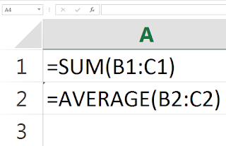 excel 2017 how to make an automatic sum function