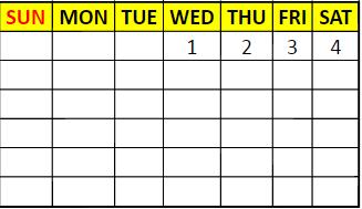 Any date calendar
